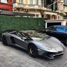 Matte Grey Lamborghini Aventador SV Roadster - @@GentBeLike Photo by @tim.spot