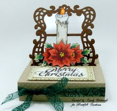 Pop Up Candle Christmas Card by Candy S. - Cards and Paper Crafts at Splitcoaststampers