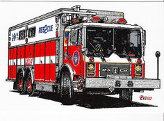 Fire Dept, Fire Department, Maltese Cross Tattoos, Mack Trucks, Fire Apparatus, Fire Engine, Fire Trucks, Rigs, Firefighter