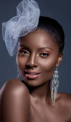 Very pretty Makeup For Dark Skin, brown skin black is beautiful !!