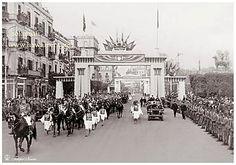 King Abdulaziz Of Saudi Arabia's State Visit to Egypt (H) - Cairo In 1946