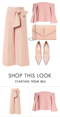 """Untitled #76"" by lindsay75 ❤ liked on Polyvore featuring Topshop and Yves Saint Laurent"