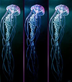 50 Best Jellyfish painting images in 2019 | Jellyfish ...