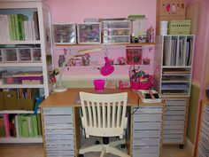 2014 is going to be CREATIVELY AWESOME!!!  I gave my craft room walk in closet  a make-over and boy does it make a HUGE difference.  My cra...
