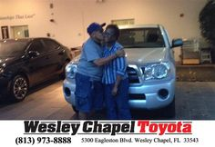 https://flic.kr/p/GrFT3e | Happy Anniversary to Elio on your #Toyota #Tacoma from Christopher Joseph at Wesley Chapel Toyota! | deliverymaxx.com/DealerReviews.aspx?DealerCode=NHPF