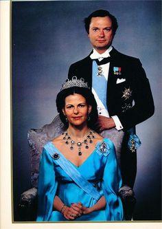 King and Queen of Sweden in 1981
