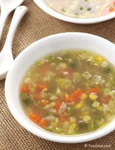 Simple Vegetable Soup Recipe