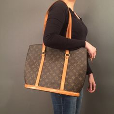 "Louis Vuitton Babylone 100% Authentic and fabulous! Made in France. Measurements: W 14.0 × H 12.2 × D 4.3 "" . Monogram canvas is in great condition. Inside packet has peeling (check out the photos) handles and button has patina.Some edges has rubs but unnoticeable. Overall it's still a fabulous condition. Feel free to check out my other purses. Bundle and I will give you a discount. Louis Vuitton Bags Shoulder Bags"