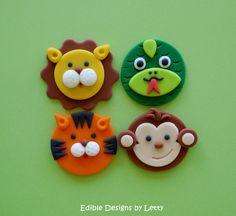 Lion, Tiger, Monkey & Anaconda