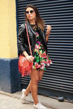 Small Fashion Diary: look do dia: flores e teimosia