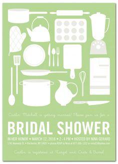 Something New Bridal Shower Invitation From PaperSnaps.com #BridalShower #Wedding
