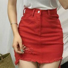 d9b1391e2bb Women's Summer Slim Denim Skirt | Female Casual A-Line Skirt | ZORKET –  zorket