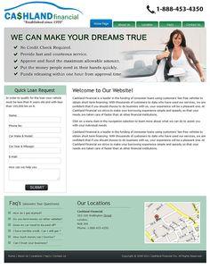 CashLand is a Custom CMS theme website designed and developed.
