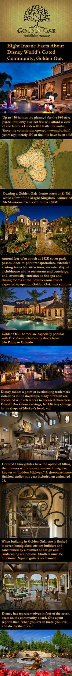 GOLDEN OAK.  Eight Insane Facts About Disney World's Gated Community