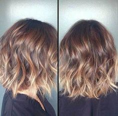Wavy-Short-Hair-with-Blonde-Ombre-Style.jpg (500×491)