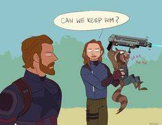 """Steve: """"Sure why not?"""""""