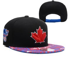 MLB TORONTO BLUE JAYS 9FIFTY Snapback Hats Black 066! Only $8.90USD