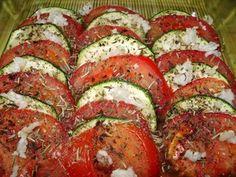 Blog de recettes Weight Watchers Propoint... Ou pas!: Tian aux courgettes et aux tomates - Recette Weight Watchers Propoint