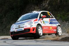 FIAT 500 rally car