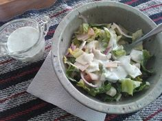 Fuel Pull Ranch dressing....Love this recipe.  And it lasts a long time too.