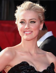 Amber Heard-She looks so much like a young Sharon Stone
