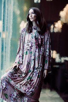 Alana Zimmer by Chris Nicholls for FASHION Magazine November 2015 - Gucci Fall 2015