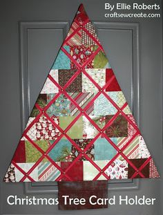 10 Fun Christmas Tree Sewing Projects
