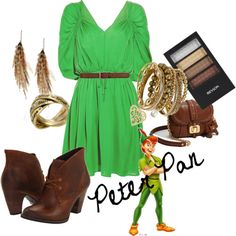 Peter Pan. I can dress up as a Disney character anytime I want.