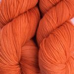 100g Semi Solid Colour Yarn -  PUMKIN