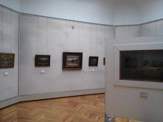Una sala della Galleria Ricci Oddi di Piacenza