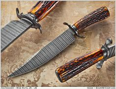 This Bowie by Michael Ruth Jr. J.S. was the winner of the BladeForums Best Bowie of 2012 in the Custom and Handmade Knives forum.