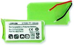 Empire Scientific CPP-539 Plantronics Cs70 Li-Pol 120Mah