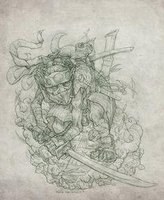 Goblin Ninja by Rodrigo-Vega