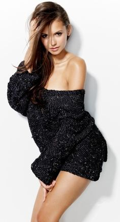 Nina Dobrev Issues and Inspiration on Womens Fashion Follow us and enjoy http://pinterest.com/ifancytemple