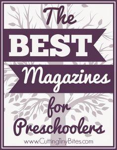 The Best Magazines for Preschoolers