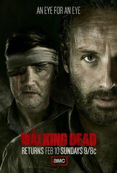 The Walking Dead Season 3.5 TV show poster. #tv #geek #TheWalkingDead