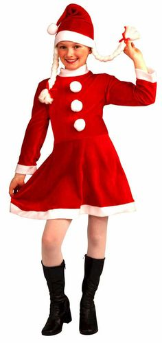 childs santa girl christmas costume 1999 santas helper costumes christmas costumes http - Best Christmas Costumes