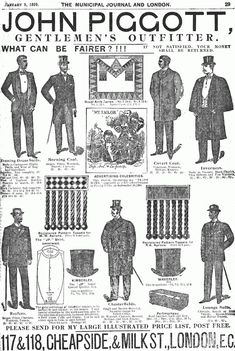 Writers in London in the 1890s: Isn't That Dandy?