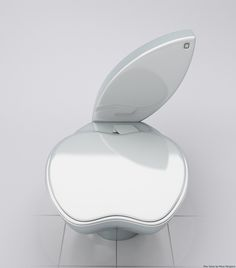 iPOO: IF APPLE MADE TOILETS. I like it just for the fact that I could say that I crap on an Apple product everyday.