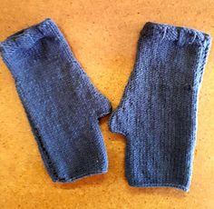 Haak en Hekel Hennetjie: Die  maklikste vingerlose gebreide handskoene ooit...