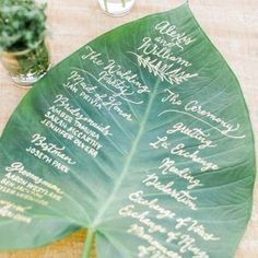 Loving some of these 15 non-traditional wedding programs