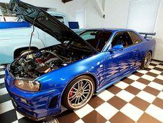 Nissan Skyline GT-R 34 by Paul Walker