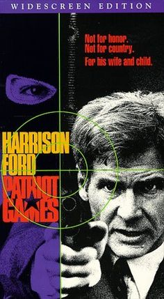Patriot Games (Widescreen Edition) [VHS]  ~ Harrison Ford