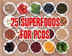PCOS diet superfoods - I love some of these! #PCOS