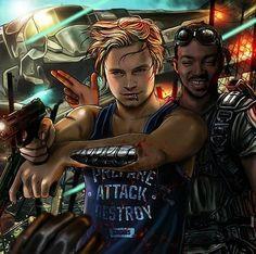MCU - Bucky Barnes x Sam Wilson - WinterFalcon
