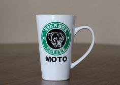 StarBox Coffee  Boxer Dog Coffee Mug  Inspired by by GavlanDesigns