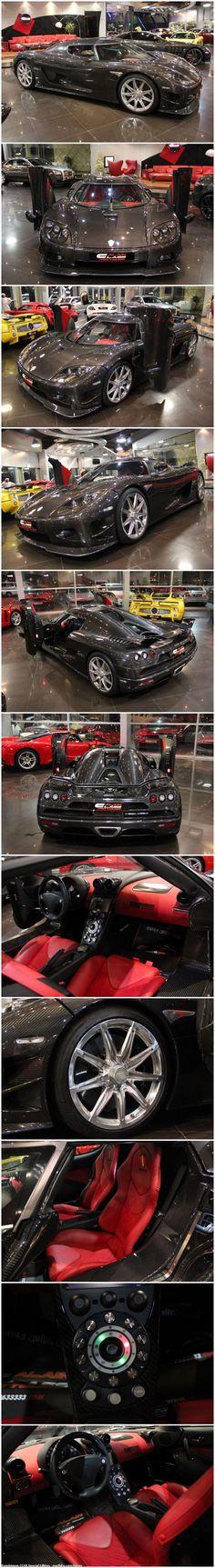 Visit The MACHINE Shop Café... ❤ The Best of Koenigsegg... ❤ (Koenigsegg CCXR Special Edition)