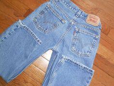 BOYS 9 regular LEVI'S 550 blue DENIM JEANS pants #Levis #ClassicStraightLeg #Everyday