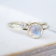 A #moissanite & #moonstone ring from @shopluxuring made our list of Top 10…