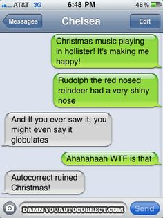 Rudolph the Red-nosed Reindeer, hahaha